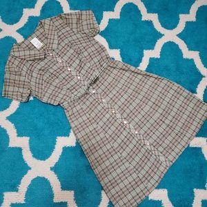 Vintage sunny vale dress size 16½